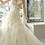 Thumbnail: Bridal Gown Cathedral Train Lace with Organza