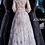 Thumbnail: Jovani 67444 Mauve Long Sleeve Boat Neckline Evening Dress