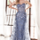 Thumbnail: Strapless Fitted Gown WFloral Applique & Glitter Tulle Over skirt