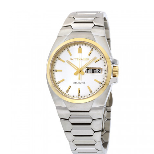 WITTNAUER Quartz Watch, Silver Dial