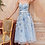 Thumbnail: Andrea & Leo Floral Beading W/ HandcraftedSatin Bead Embellished Gown
