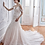 Thumbnail: Tulle Satin OrganzaSpaghetti Off-shoulder Beaded Lace Bridal Gown