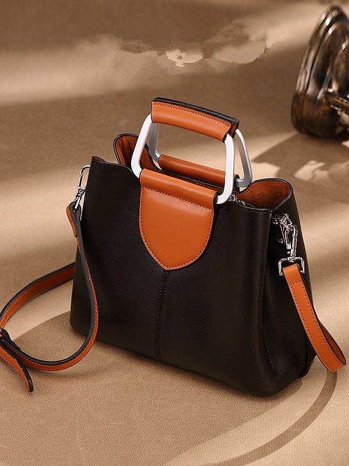 Italian Genuine Leather Handbag: Trending