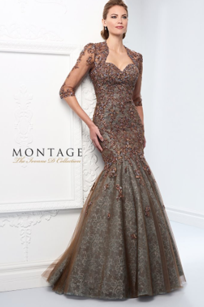 Mon Cheri Ivonne Versatile Strapless Gown