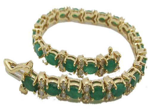 Excellent Quality Hand crafted Emerald Necklace