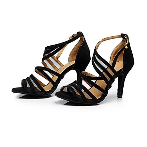 Sandal Buckle Stiletto Heel