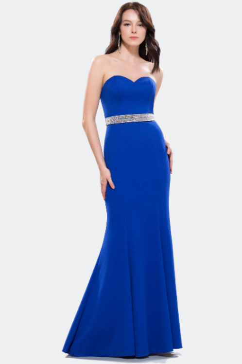 Designer Strapless dress