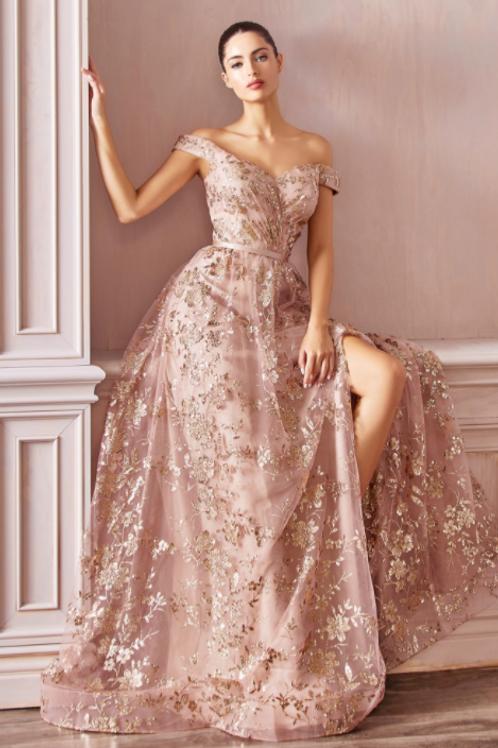 Cinderella Divine A-Line Evening / Prom Dress