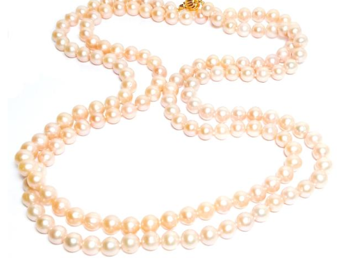 Mignon Manley Large Ping Genuine Cultured Pearl Necklace