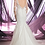 Thumbnail: Lace & Tulle Mermaid Bridal Gown with Sheer Bateau Neckline