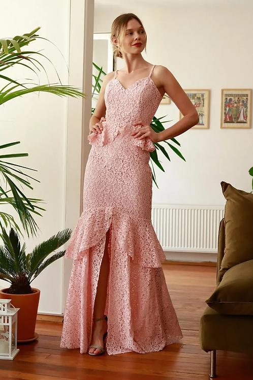 Lace Mermaid Shape Dress