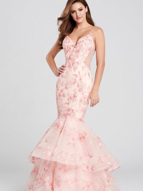 Ellie Wilde Sleeveless Lace Mermaid Gown