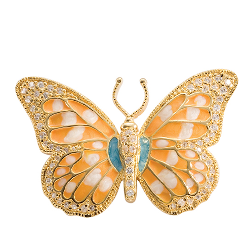 Mignon Manley My Butterfly Pin