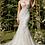 Thumbnail: Beaded Flower Applique Gown