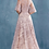 Thumbnail: Lace Flutter Sleeve A-Line Gown