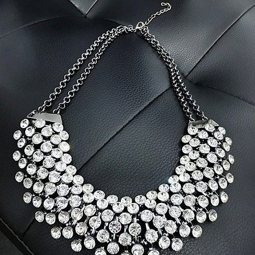 NECKLACE, CRYSTAL STATEMENT