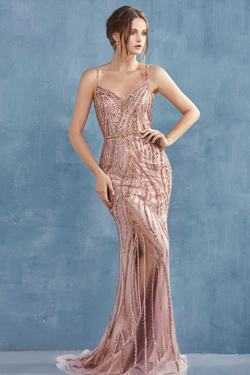 Andrea & Leo Alexa Gown Crystal Embellished