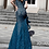 Thumbnail: JOVANI Peacock Embellished Lace Off the Shoulder Prom Dress 64521