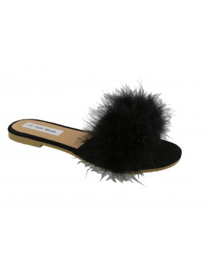 Women Sandals w/Fur