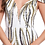 Thumbnail: V-Neck Off Shoulder Sequin Trumpth Dress