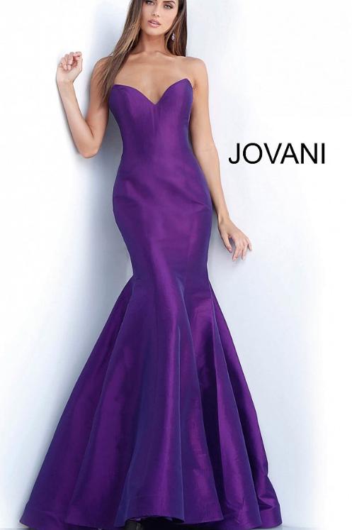 JOVANI Purple Mermaid Dress 67412
