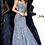 Thumbnail: JVN00874 Grey Sweetheart Neckline Mermaid Prom Dress