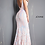 Thumbnail: Plunging Neckline Fitted Prom Dress 3263
