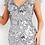 Thumbnail: Jovani 04228 Grey Sequin Embellished Evening Dress