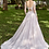 Thumbnail: Mignon Manley Lace Bridal Gown Hand Embellished Lace Gown