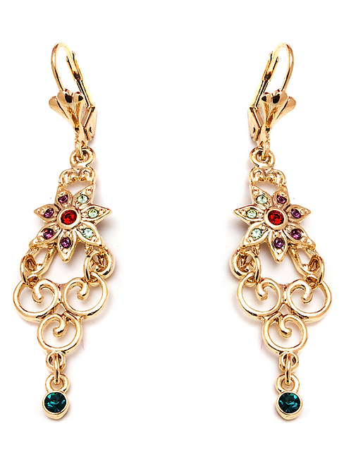 Crystal ElementsDrop Earrings