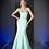 Thumbnail: Classic Satin Sheath Bridesmaid Gown
