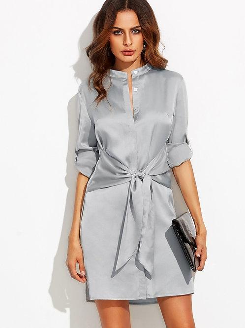 SPLIT SIDE DAY TO NIGHT DRESS