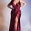 Thumbnail: Cinderella Divine Satin Evening Gown