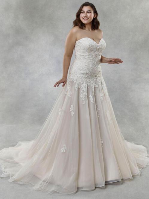 Mignon Manley OV2002 ALAYNA OMÉLIE CURVY Bridal Gown