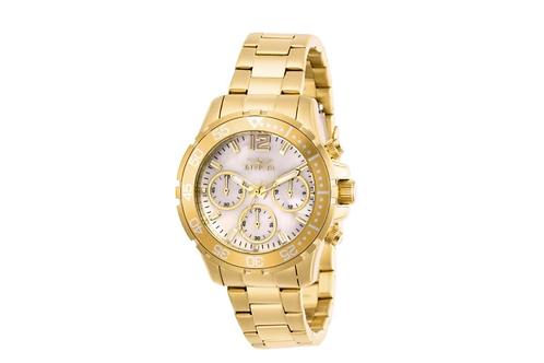 Invicta Women's Pro Diver Quartz Chronograph White Dial Watch