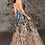 Thumbnail: CINDERELLA DIVINE A-line Halter NecklineLayered Sequin Print Dress