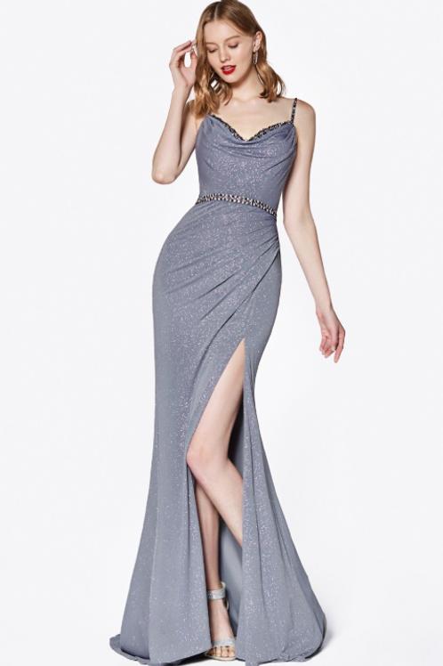 Sweetheart Neckline Sleeveless Long Evening Dress