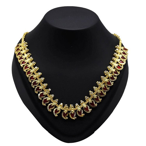 NECKLACE, GOLD PLATED