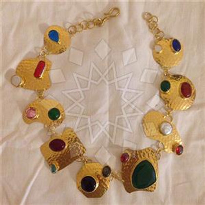 Artisian Crafted Gem Necklace