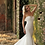 Thumbnail: Strapless Beaded Lace Fishtail Wedding Dress
