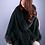Thumbnail: Cashmere Cape with Fox Fur Trim