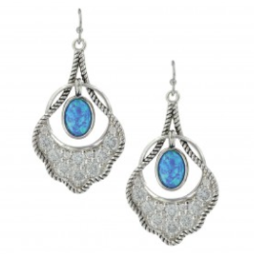 Mignon Manley Scalloped Fan Opal