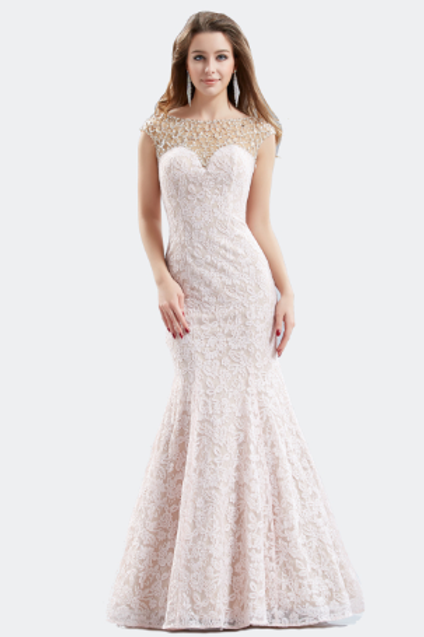Mermaid Crystal Dress