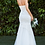Thumbnail: Strapless Fitted Mermaid Beaded LaceTulle Bridal Gown