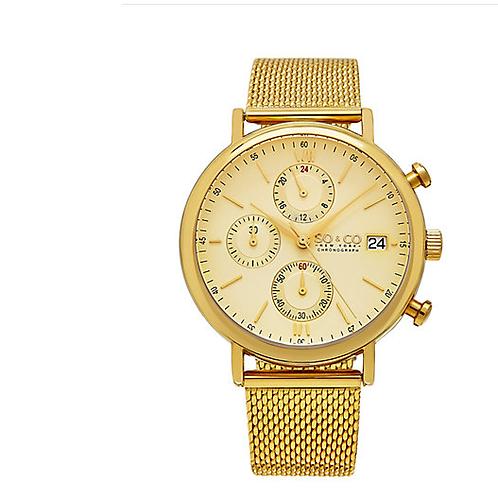 Designer SO & CO Men's Monticello Watch