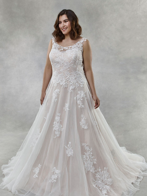 Mignon Manley OV2006 AYLA-OMÉLIE CURVY Bridal Gown