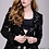 Thumbnail: Black Sequined Ready to Wear Blazer by Jovani M52083