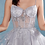 Thumbnail: Johanna Embroidered & Beaded Corset Tulle A-Line Cocktail Dress