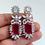 Thumbnail: Earrings Statement Gold Plated CZ Earrings