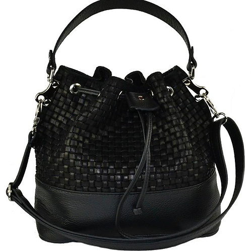 Genuine leather bag, Made in Italy.